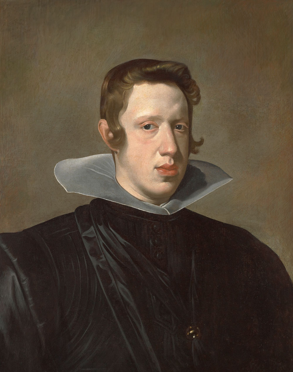 Diego Rodríguez de Silva y Velázquez (Spain, 1599–1660), Portrait of King Philip IV, 1623–24. Oil on canvas. Meadows Museum, SMU, Dallas, Algur H. Meadows Collection, MM.67.23.
