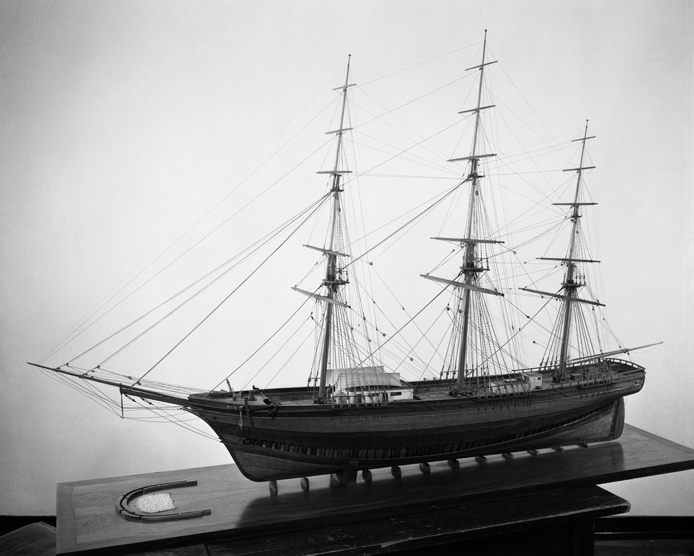 Charles Gerard Davis, Model of clipper ship: Sea Witch, 1936. Courtesy of Mystic Seaport, Mystic, Conn., #1940.377.