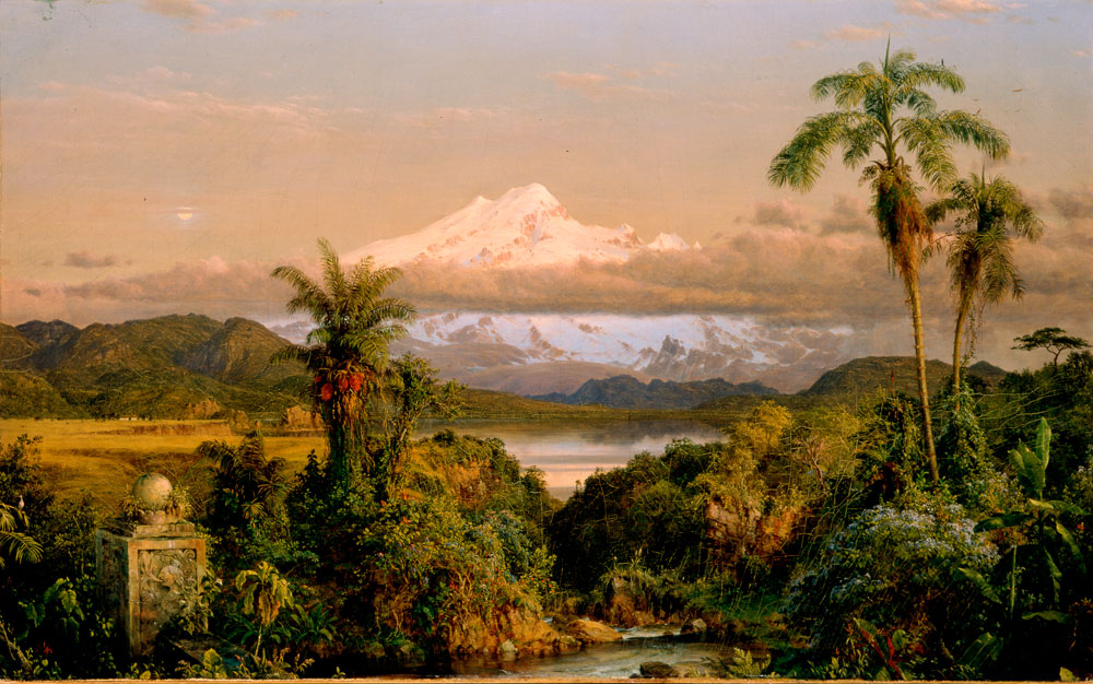 Frederic Edwin Church (United States, 1826–1900), Cayambe, 1858. Oil on canvas. New-York Historical Society, The Robert L. Stuart Collection, on permanent loan from the New York Public Library, S-91