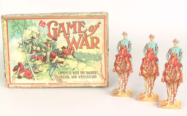 Game of War, ca. 1900. New-York Historical Society, The Liman Collection, 2000.483.