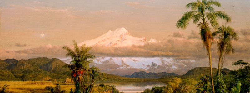 Frederic Edwin Church - Cayambe - New-York Historical Society