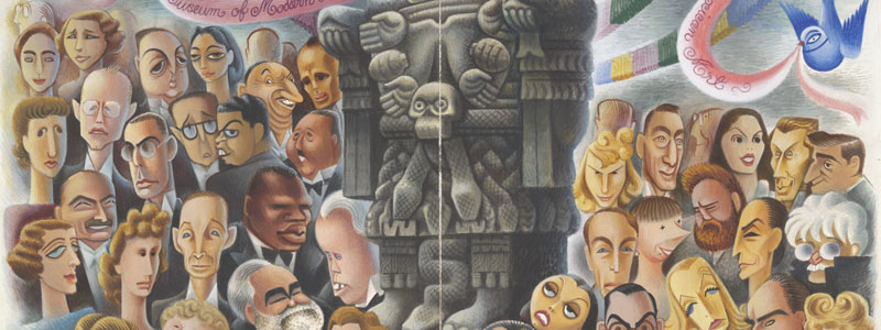 Miguel Covarrubias - Twenty Centuries of Mexican Art at the Museum of Modern Art, 1940. - Yale University Art Gallery, Gift of Sra. Rosa R. de Covarrubias