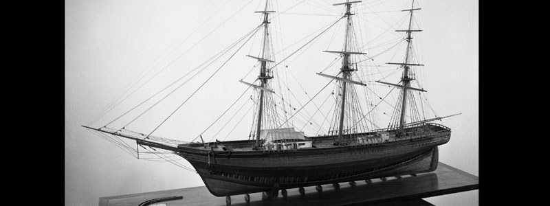 Sea Witch, clipper ship model - Mystic Seaport